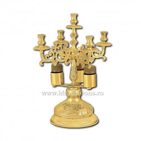 Sfesnic Sfantul Maslu - aurit X45-364