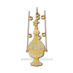 CADELNITA hexa 2 aurita si argintata - X63-562