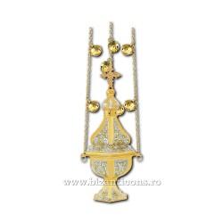 CADELNITA hexa 1 aurita si argintata - X63-564