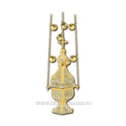 CADELNITA hexa 1 aurita si argintata - X63-565