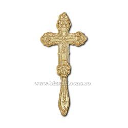 Cruce Binecuvantare - aurita si argintata X70-643