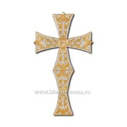 Cruce Binecuvantare - aurita si argintata X70-640