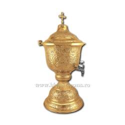 VAS aghiasma 9 litri aurit - X104-858 / 91-610
