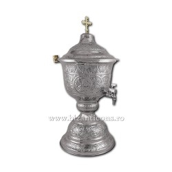 VAS aghiasma 9 litri nichelat - X104-859 / 91-609