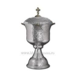 Cristelnita cizelata 50 litri - nichelata X104-866 / 91-617 No1