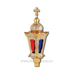 FELINAR procesiune mediu aurit si argintat - X75-686 / 66-471