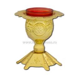 Το 120 102Au το κερί του πίνακα, η biz είναι 12.5 cm, χρυσό, 27/χαρτοκιβώτιο