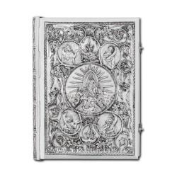 Evanghelie din argint masiv - cu patina