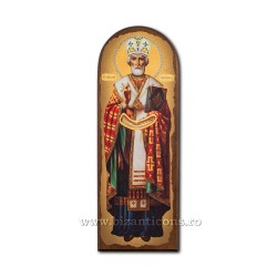 ICOANA pe lemn Sf Nicolae