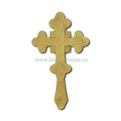 100-94Au Cruce Bin. 28cm - aurie - Bizantina 24/bax