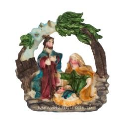 60-17 ornament Nasterea 8,5x8,5 4buc/cutie 288/bax