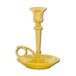 Sfesnic auriu cu farfurie