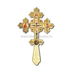 Кросс Бен. Иконы по эмали - установлено золотое изваяние AT 123-81