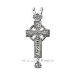 CRUCE Stavrofor Bronz argintat + patina AT 140-33