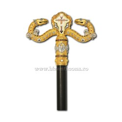 Staff Arhiereasca - stones, zirconia, e - mail AT 135-52