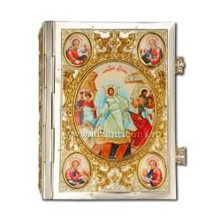 Evanghelie icoane email - aurita si argintata AT 304-21
