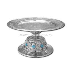 Disc argintat - pietre S3 AT 323-11