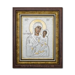 Икона argintata - Матерь божья Giatrisa - Vindecatoarea 36x44cm K700-005