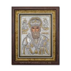 Икона argintata - день Святого Николая, 36x44cm K700-009