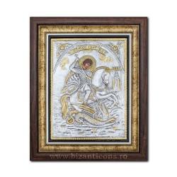 Икона argintata - день Святого Георгия 36x44cm K700-010