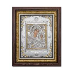 Икона argintata - Матерь божья Pantanassa - Vindecatoarea рака 36x44cm K700-104