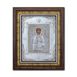 Икона argintata - Святой Онисифор, Стефан 36x44cm K700-158