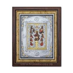 Икона argintata - Древо Жизни, 36x44cm K700-203