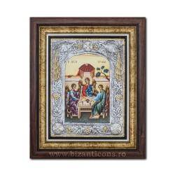 Икона argintata - троицкий 36x44cm K700-215