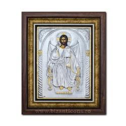 Икона argintata - Спасителя на троне - Король 36x44cm K700-402