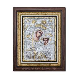 Икона argintata - девы марии Королевой - Anagheni 36x44cm K700-403