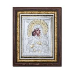 Икона argintata божья Матерь Сладкое Поцелуй 36x44cm K700-411