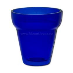 "Стакан ""рубин"" № 1 синий - 7,5x7,7 см"