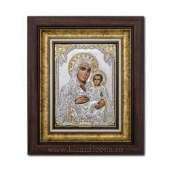 The ICON of the frame, Ag925, MD Jerusalem, 27x32 K701-006