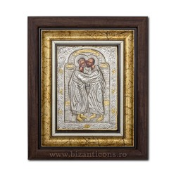 The ICON of the frame Ag925 of ST. Peter and Paul's 27x32 K701-431