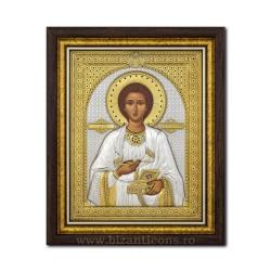 The ICON of the Ag925 of ST. Panteleimon 44x54 EK89-023KZ
