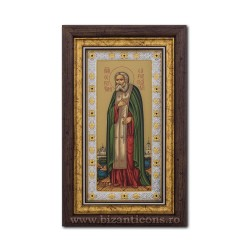 The ICON of the Ag925 of St. Seraphim 20x33 EK405-149KZ
