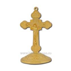 6-54 σταυρό το μέταλλο που βασίζεται + κόλλα 8cm 140/κιβώτιο