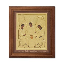ICON metal framed 15x17 Holy Trinity SFR505-215