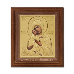 The ICON of the metal in the frame 15x17, MD, Vladimir SFR505-105