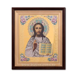 ICON litho, embossed, framed 32x37 Km Square, No. 27 SFR510-001