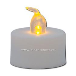 17-2 lumanare pt candela 12 sau 24/set - cu baterii - mica