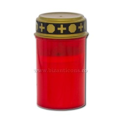 17-40R lamp with battery ( not include battery) - red - 7x12cm 144/box