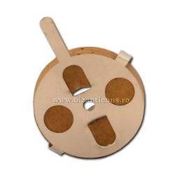 Plute rotunda masiva ROM 100/punga D 69-13