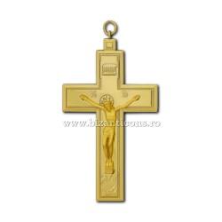 От 100 до 12и груди Крест, Золотой - 6,6x11,8 100/коробка