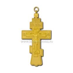 100-13Au Крест груди в России-Золотисто - 6x11 100/коробка