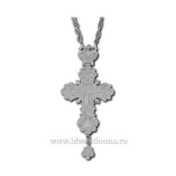 CRUCE STAVROFOR metal argintat - Putna D 100-43AG
