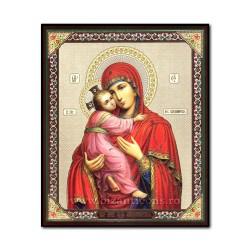 Icoana pe lemn - Maica Domnului din Vladimir 15x18 cm