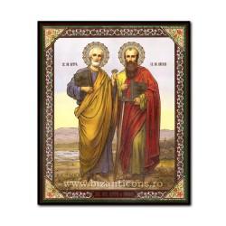 1856-723 Icoana ruseasca mdf 15x18 Sf Petru si Pavel