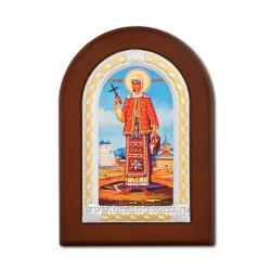 Icoana foita lemn Sf Filofteia 10x14 TM 30-441