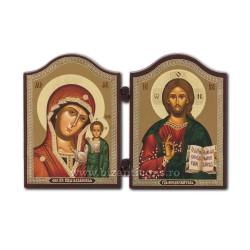 18-106 Diptic lemn 12,5x8,5 MD Kazan - M Kazan 11buc/cutie